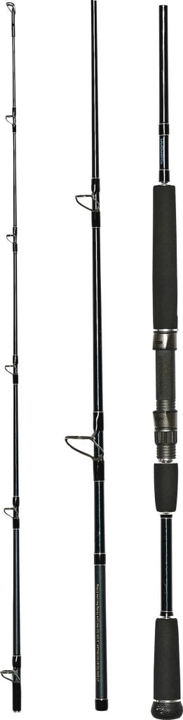 Shimano TCurve Revolution Travel Offshore Rod Scale