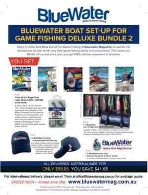 BlueWater BOAT SET-UP FOR GAME FISHING Deluxe Bundle 2