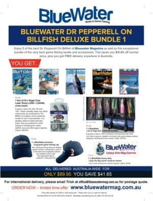 BlueWater DR PEPPERELL ON BILLFISH Deluxe Bundle 1