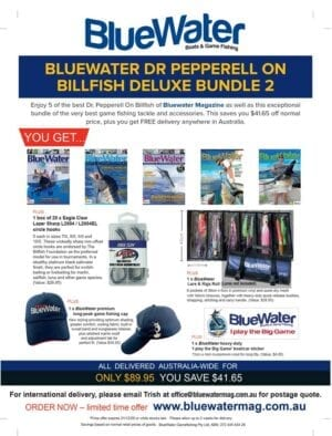 BlueWater DR PEPPERELL ON BILLFISH Deluxe Bundle 2