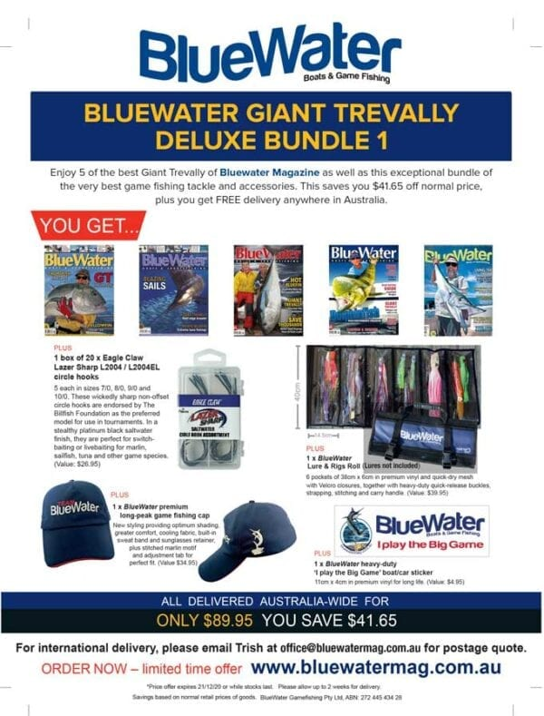BlueWater GIANT TREVALLY Deluxe Bundle 1