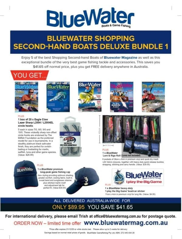 BlueWater SHOPPING SECOND-HAND BOATS Deluxe Bundle 1