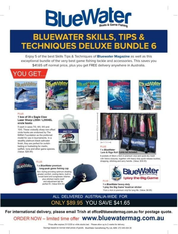 BlueWater SKILLS, TIPS & TECHNIQUES Deluxe Bundle 6