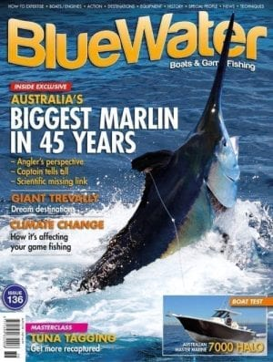 BlueWater Issue 136 cover