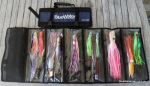 BlueWater Lure Roll open and closed