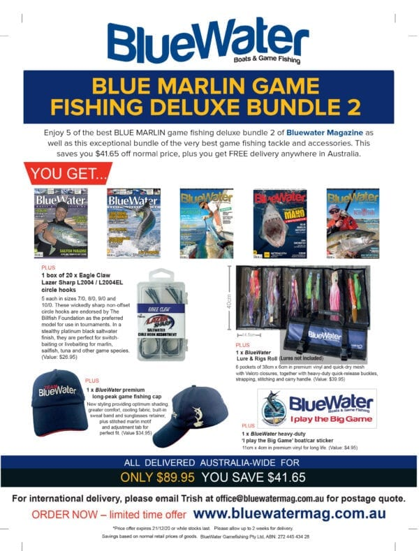 BlueWater BLUE MARLIN GAME FISHING Deluxe Bundle – 2