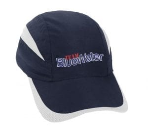 Bluewater Fishing Cap Navy White Summit