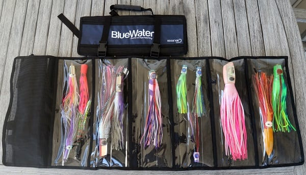 BlueWater Game Fishing Lure Roll open and closed