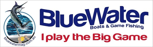 BlueWater I play the big game with outline