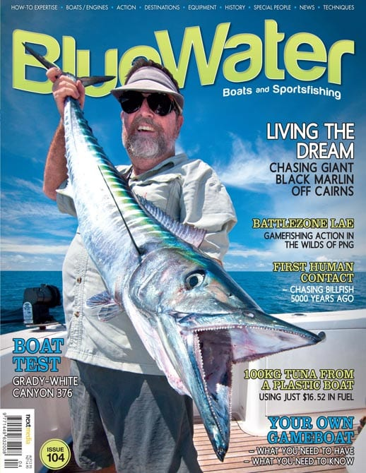 BlueWater Issue 104 Cover