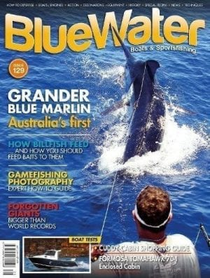 BlueWater Issue 129 Cover