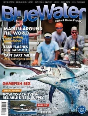 BlueWater Issue 131 Boats Game Fishing Magazine