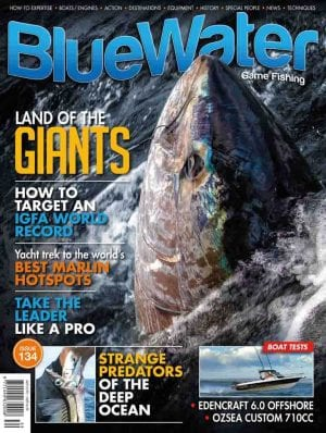 BlueWater Issue 134 Cover