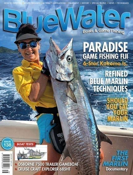 Bluewater Issue 138 Cover