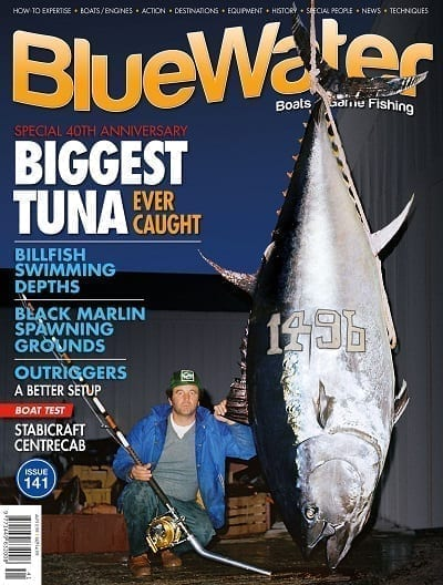 BlueWater Issue 141 cover