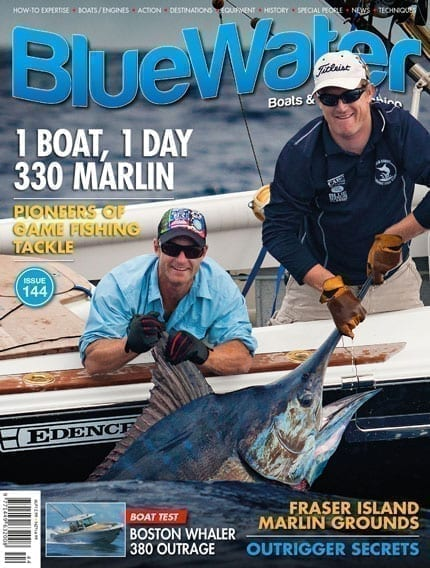 BlueWater Issue 144 Cover
