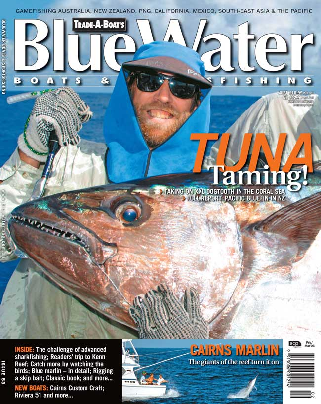 BlueWater Issue 53 Cover