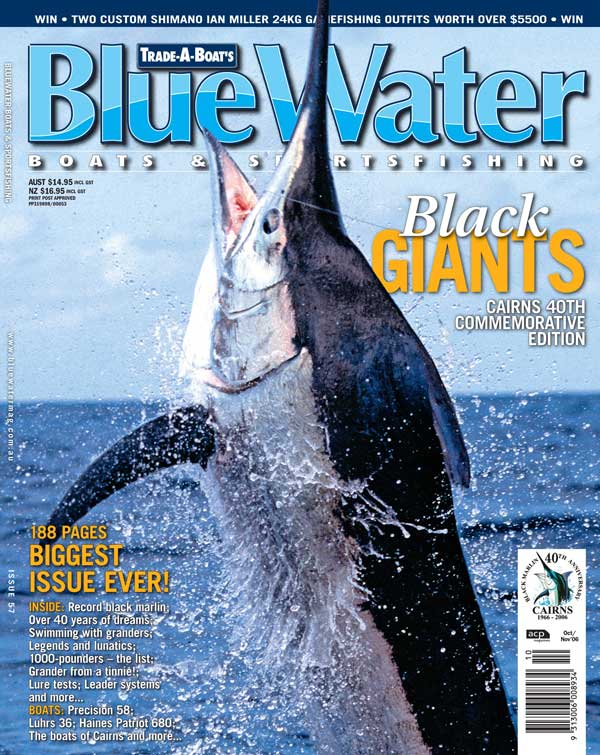BlueWater Issue 57 Cover