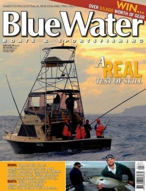 BlueWater Issue 58 Cover