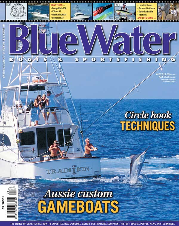 BlueWater Issue 63 Cover