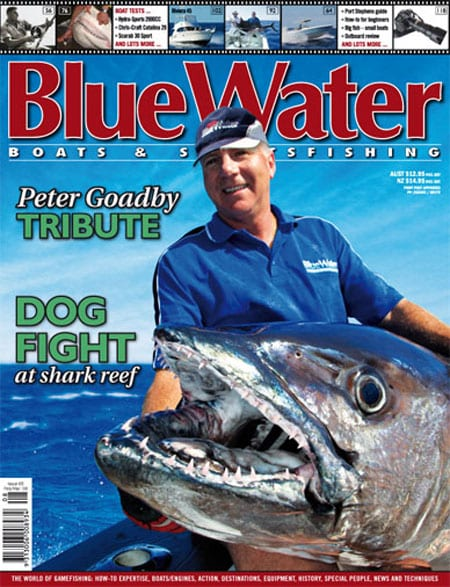 BlueWater Issue 65 Cover