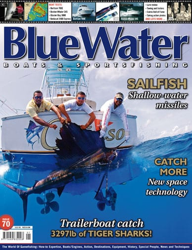 BlueWater Issue 70 Cover
