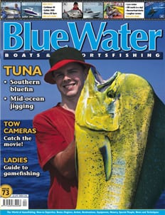 BlueWater Issue 73 Cover