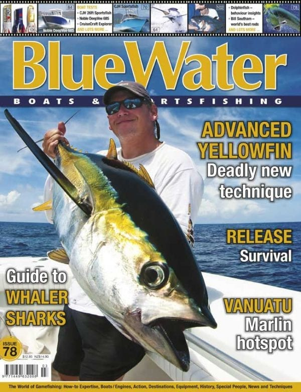 BlueWater Issue 78 Cover