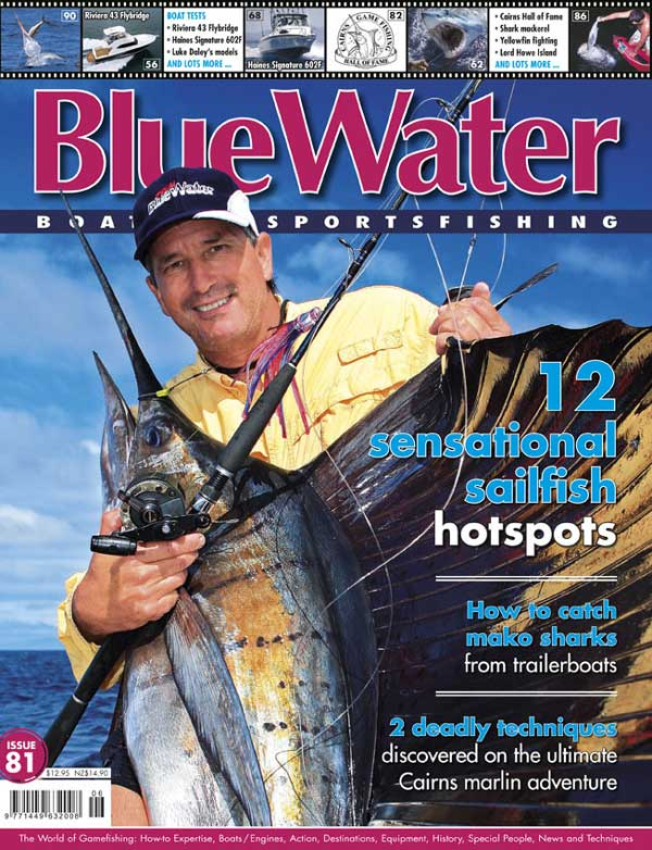 BlueWater Issue 81 Cover