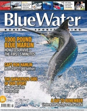 BlueWater Issue 86 Cover