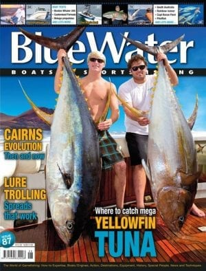 BlueWater Issue 87 Cover