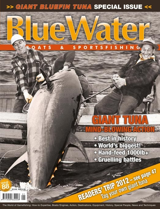BlueWater Issue 88 Cover