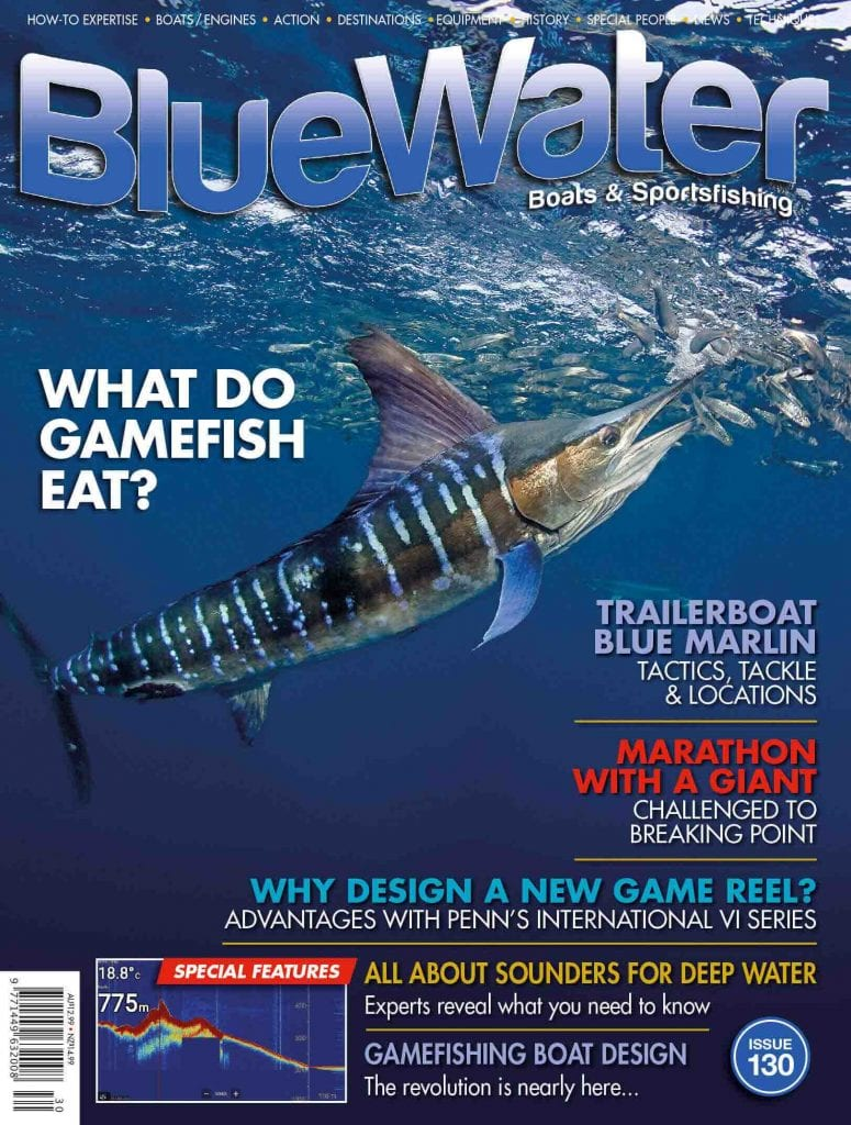 BlueWater Issue 130 COVER