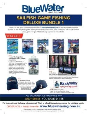 BlueWater Sailfish for Game Fishing Deluxe Bundle 1