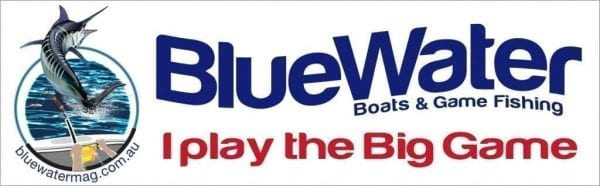 Bluewater Sticker I play the big game
