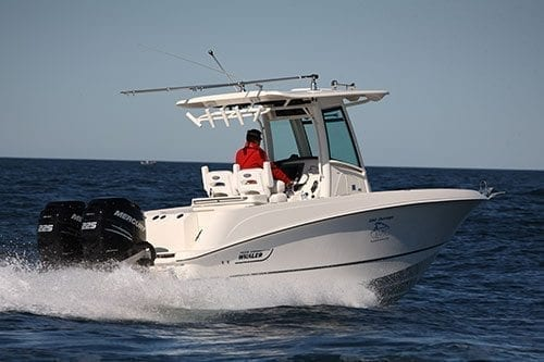 Boston Whaler 250 Outrage Boat Test