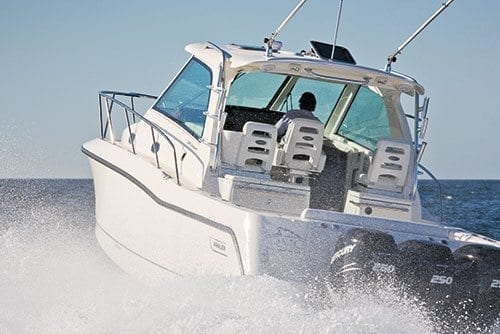 Boston Whaler 345 Conquest Boat Test