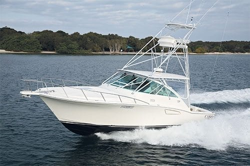 Cabo 40 Express Boat Test