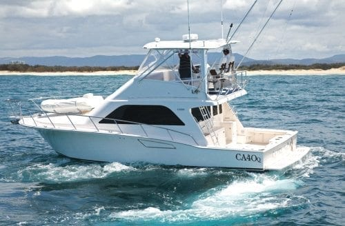 Cabo 40 Flybridge Boat Test