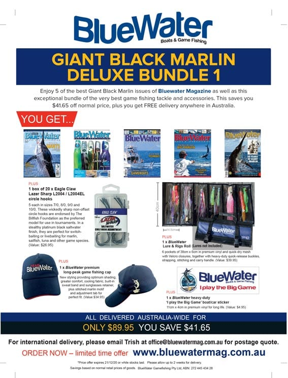 BlueWater Black Marlin Game Fishing Deluxe Bundle 1