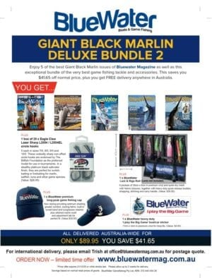 BlueWater Black Marlin Game Fishing Deluxe Bundle 2