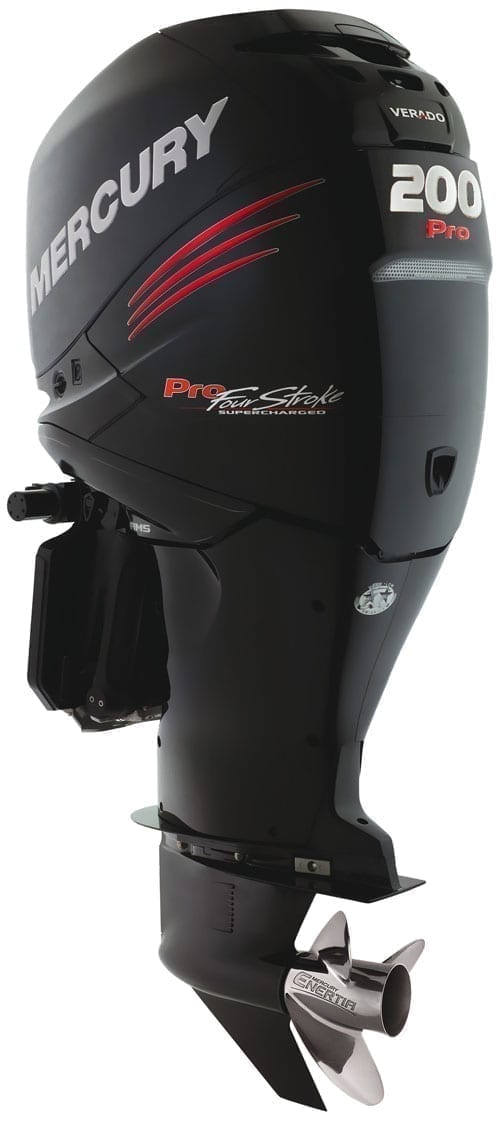 Issue 104 Mercury Marine Verado 200HP Pro FourStroke Outboard