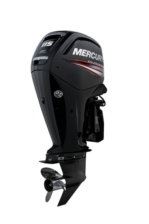 Issue 107 Mercury Marines Command Thrust Outboard Motors with Counter Rotation