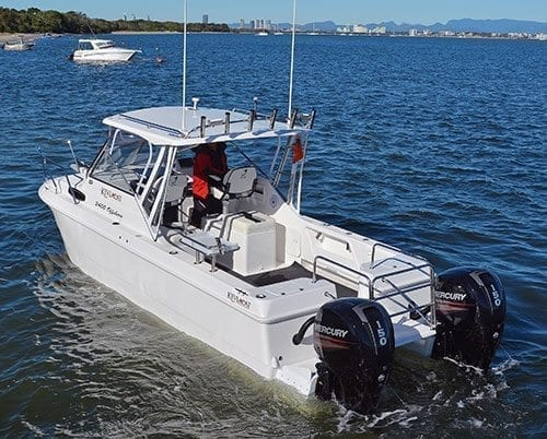 Kevlacat 2400 Offshore Boat Test