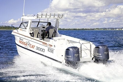 Noosa Cat 3000 Sportsman Boat Test