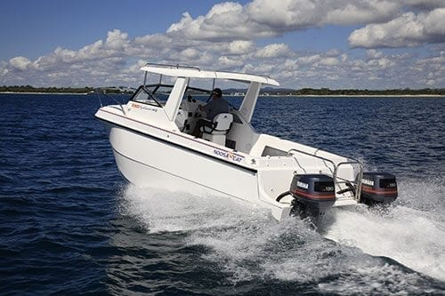 Noosa Cat 2300 Sportsman Boat Test