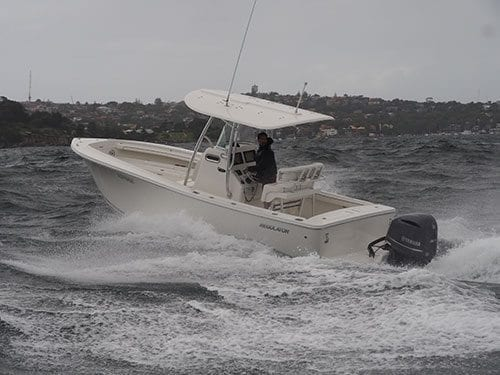 Regulator 23 Boat Test