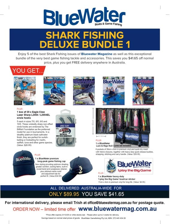 BlueWater Shark Game Fishing Deluxe Bundle 1