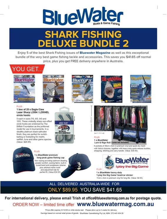 BlueWater Shark Game Fishing Deluxe Bundle 2