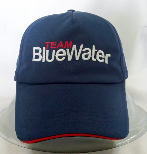 Team Bluewater Cap front view